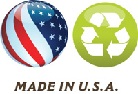 Betti Pot is made in the USA from recycled material